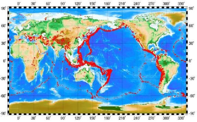 Academic progress detail circum pacific seismic belt is one of the most active seismic belts in the world with 80 of shallow focus earthquakes 90 of intermediate focus gumiabroncs Image collections